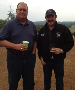 My Dad and Kix Brooks. New BFFs (only he Kis doesn't know it).