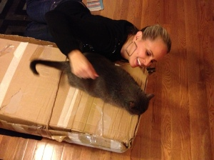 Coaxing off the box