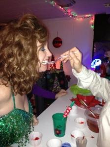 Reba gets gummied.
