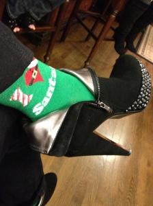 I heart Santa all the way down to my socks.