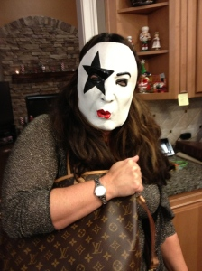 Nashville's version of KISS member Paul Stanley showed up in the wee hours of the pot luck.