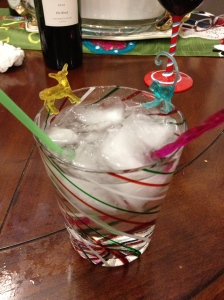 A green straw, yellow deer, turquoise monkey and fuchsia stirrer made me easily guzzle my cocktails.