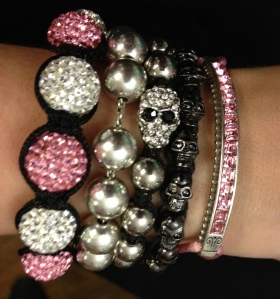 Ho! Ho! Holiday party arm candy. Is there ever enough?