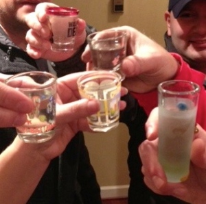 Just a shot full of tequila helps the loss go down a little easier.