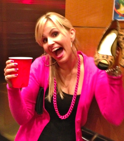Red Solo Cups are so chic - only in Miami.