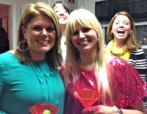My expertise in the art of photo bombing was overshadowed by understudies!