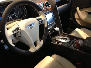 with the Bentley two toned interior...too much to ask?!