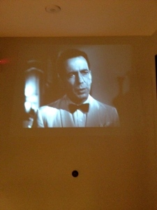 Casablanca on the wall