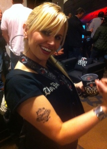 Does this Jim Beam tattoo make me look like an alchoholic?
