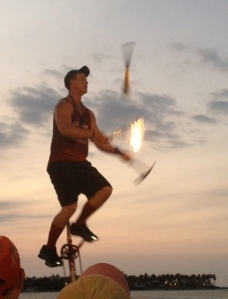 Fire, tomahawk and oh my!