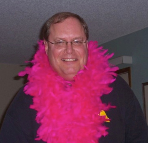 Oh, pink feathers would look good on me!