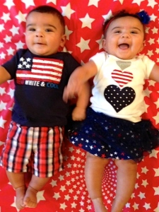 My little Iowa fire crackers....