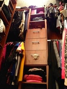 No, it's my closet.