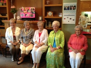 All five sisters are still alive and kickin' it into their 90s.