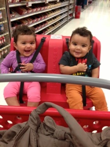 Instilling the love in my niece and nephew.