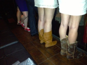 All kinds of footwear