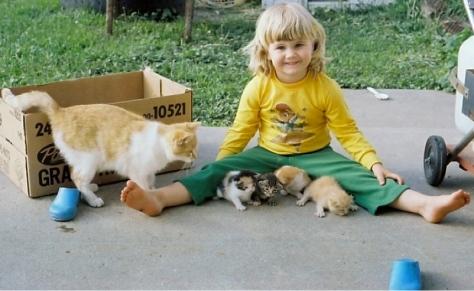 Here kitty, kitty, kitty, kitties....
