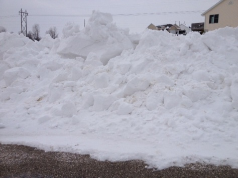 It takes this kind of snow to shut down schools in Iowa.