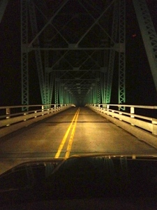 Bridge of terror.