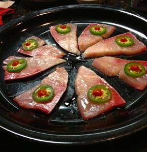 Sushi nachos