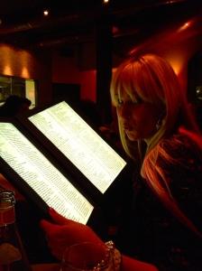 Light up menu solves everything.