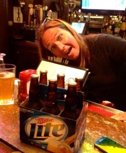 Marjia the Bartender