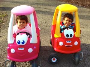 Princess and Prince cars.