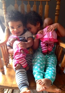 Baby love times two.