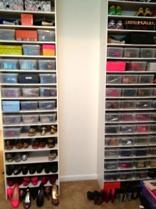 Tower of Shoes