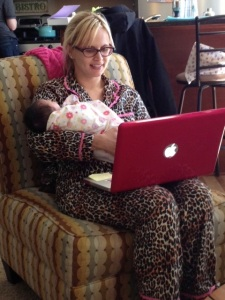 Multi-tasking Auntie CBXB