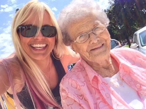 Jell-O shootin' granny