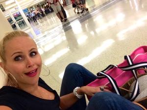Looooong delays at airports.