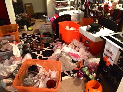 Halloween nightmare.