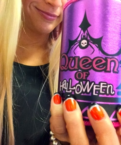 Afterall, the Queen of Halloween. Naturally.