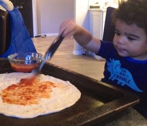 Pizza. Pizza.