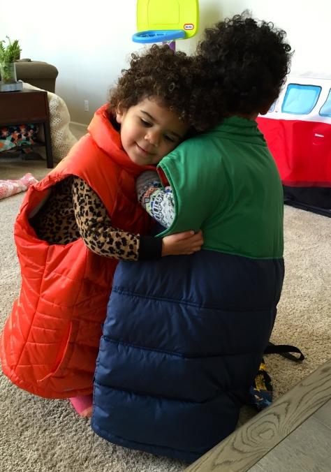 Mellow hug time.