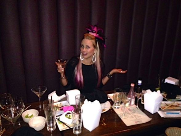 It's my birthday and I'll drink everyone under the table if I want to.