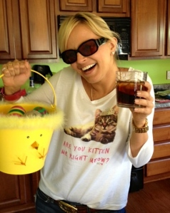 Eggs, Captain and a cat shirt.. A heavenly Easter for me.