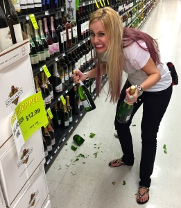 Clean up on aisle nine...
