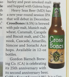 Cross Bones Beer