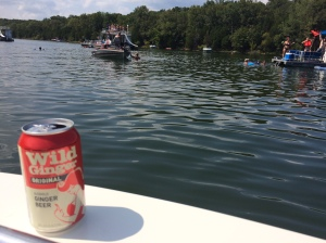 Sunday on the water.