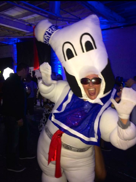 Stay Puft mania!