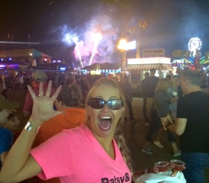 You bet your ass I did. Asshole in her sunglasses at night. Until next year!